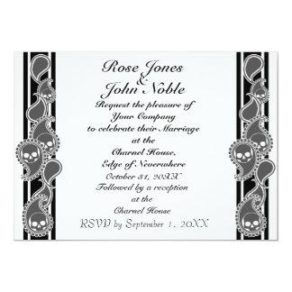 Invitación anversa del boda (del humo)