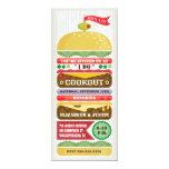 Invitación apilada del Cookout de la hamburguesa