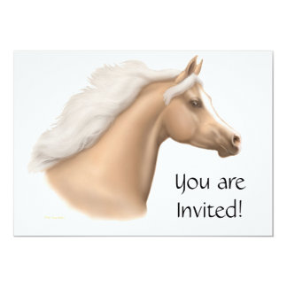 Invitación árabe del fiesta del caballo del
