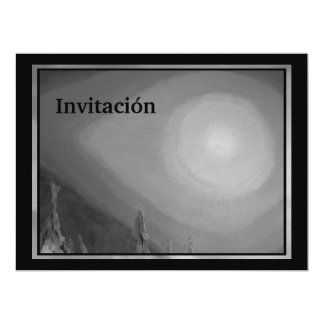 Invitación - Arte Abstracto Card