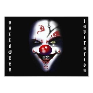 invitación asustadiza de Halloween