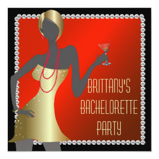 Invitación atractiva del fiesta de Martini