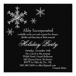 Invitación atractiva negra de la celebración de