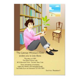 Invitación ávida del círculo de lectores del
