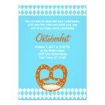Invitación bávara de Oktoberfest de la bandera y