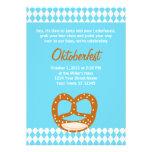 Invitación bávara de Oktoberfest de la bandera y d