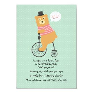 Invitación Biking del oso