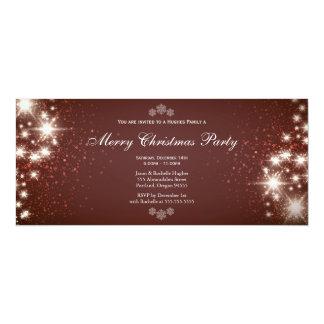 Invitación brillante elegante del navidad