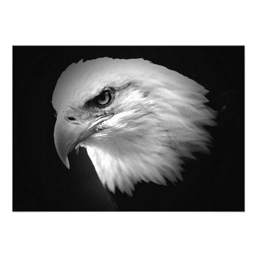 Invitación calva de BW American Eagle