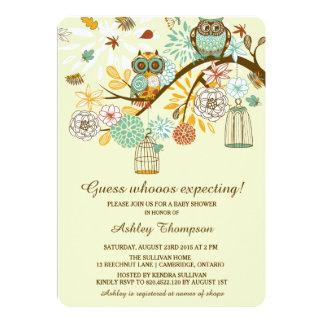 Invitación caprichosa de la fiesta de bienvenida