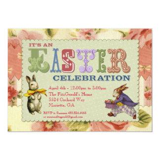 Invitación caprichosa del fiesta de Pascua