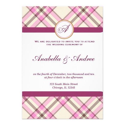 Invitación casual del boda
