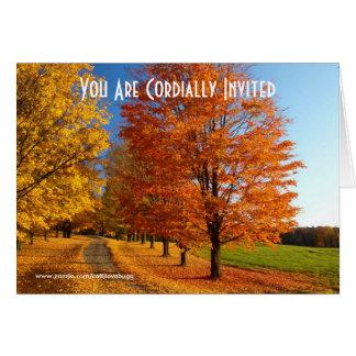 Invitación casual del verso del aniversario tarjeta de felicitación