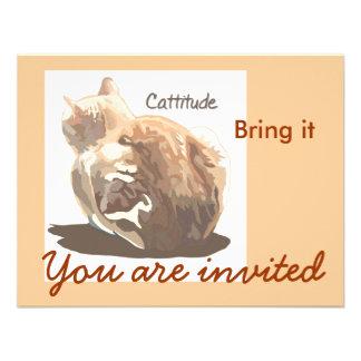Invitación Cattitude