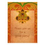 Invitación céltica del estilo del pergamino