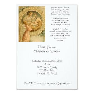 Invitación (cita): El amor bajó en el navidad