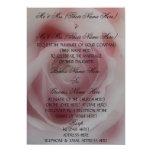 Invitación color de rosa rosada elegante del boda