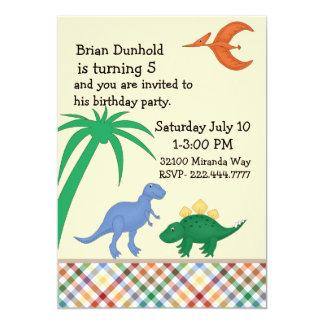 Invitación colorida de la fiesta de cumpleaños del