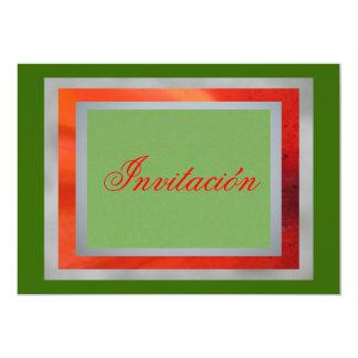 Invitación - Colors of México Card