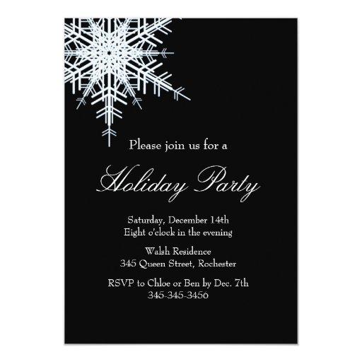 Invitación compensada de Snowy White de la
