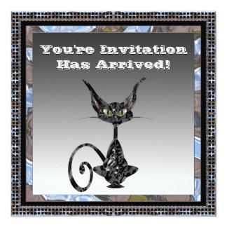 Invitación con clase del fiesta de Halloween del