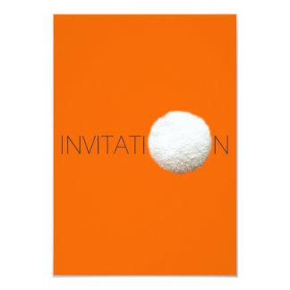 Invitación conceptual invitación 8,9 x 12,7 cm