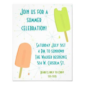 Invitación congelada de las invitaciones