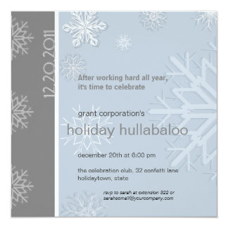 Invitación corporativa de la celebración de días invitación 13,3 cm x 13,3cm