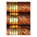 Invitación cubana de Habana de los cigarros Invitación 12,7 X 17,8 Cm