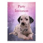 Invitación Dalmation en el parque
