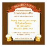 invitación de 5x5 Oktoberfest Invitación 13,3 Cm X 13,3cm
