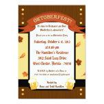 invitación de 5x7 Oktoberfest Invitación 12,7 X 17,8 Cm
