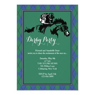 Invitación de Argyle de la carrera de caballos