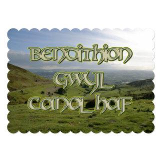Invitación de Bendithion Gwyl Canol Haf