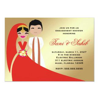 Invitación de Bindi de la novia y del novio de 311