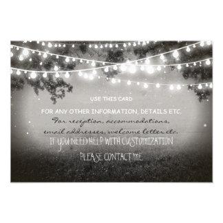 invitación de boda de las linternas de la noche pa