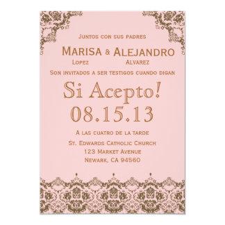 Invitacion de Boda en español / Wedding Invitation