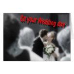 Invitación de boda felicitación