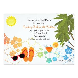 Invitación de Chillin del verano