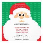 invitación de Chirstmas de la barba de 5x5 Santas