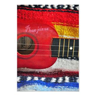 Invitación de Cinco De Mayo de la guitarra