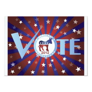 Invitación de Demócrata de 2012 votos