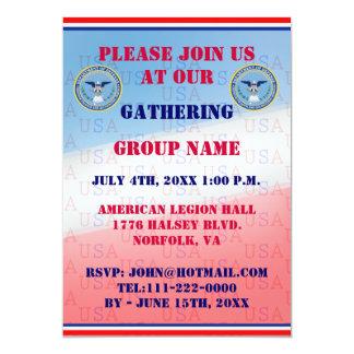 Invitación de DFAS
