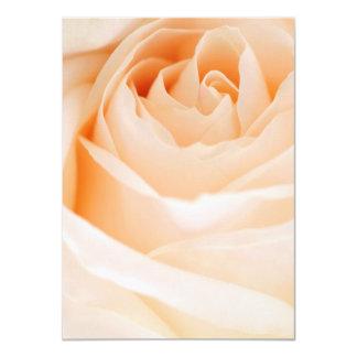 Invitación de encargo color de rosa beige del boda