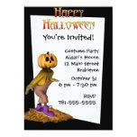 Invitación de encargo de Halloween del Invitación 12,7 X 17,8 Cm