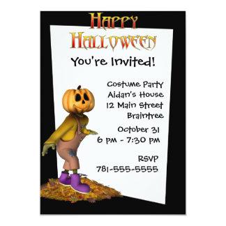 Invitación de encargo de Halloween del