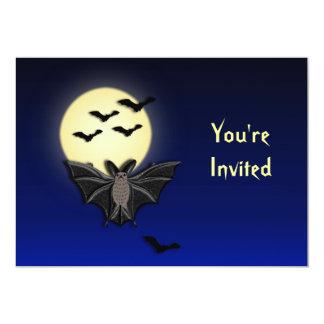 Invitación de encargo de Halloween del palo de Invitación 12,7 X 17,8 Cm