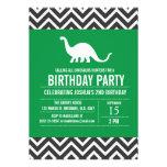 Invitación de encargo de la fiesta de cumpleaños d