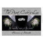 Invitación de encargo de la foto del boda gay/de l tarjeta