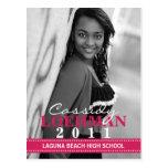 Invitación de encargo de la graduación de la foto  postal